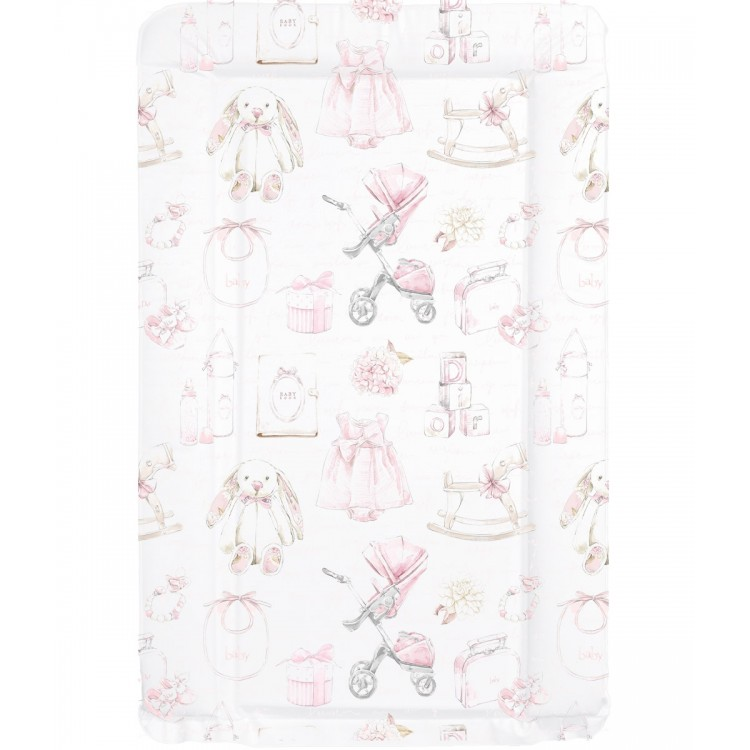 4487 MOLLYDOO  'BABY GIRL VINTAGE' BABY CHANGING MAT