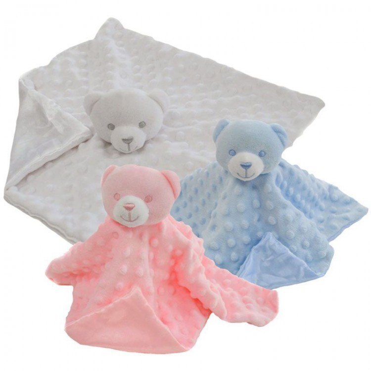 BC34T SOFT TOUCH TEDDY BUBBLE COMFORTER