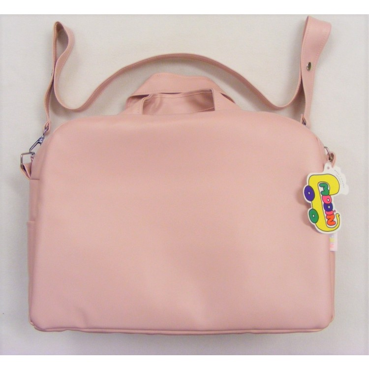 72382 MODIN SMOOTH FRONT CHANGING BAG - PINK