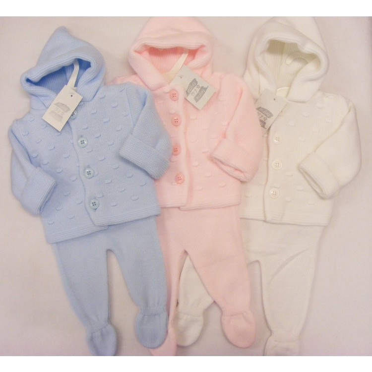 A370  NINAS Y NINOS DOUBLE THICKNESS BOBBLE PRAMSUIT