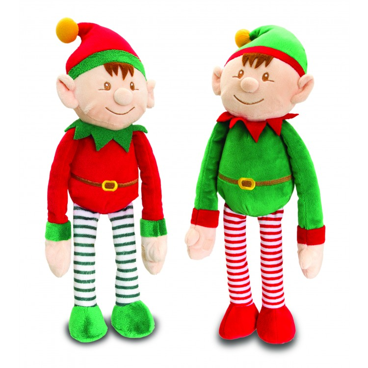 SX0481M ELF ON THE SHELF -- MEDIUM SOFT TOY